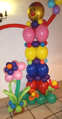 décoration ballon clown gildas